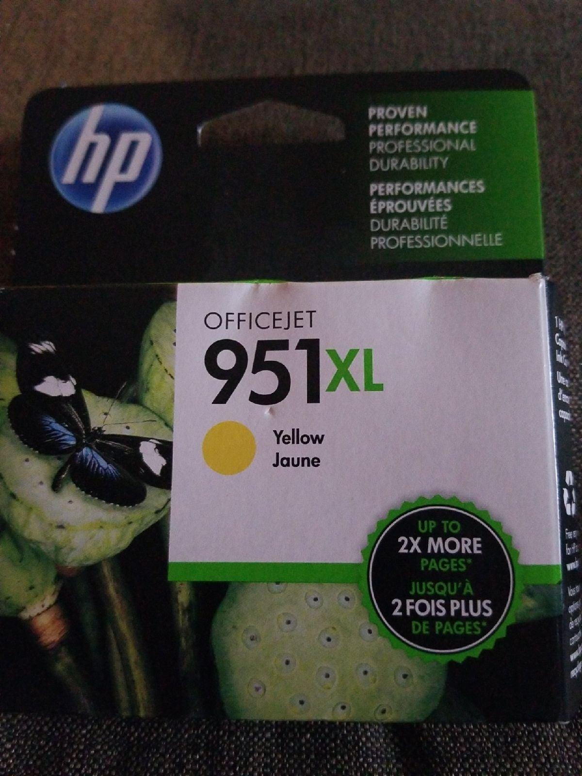 HP 951XL High-Yield Original Ink Cartrid