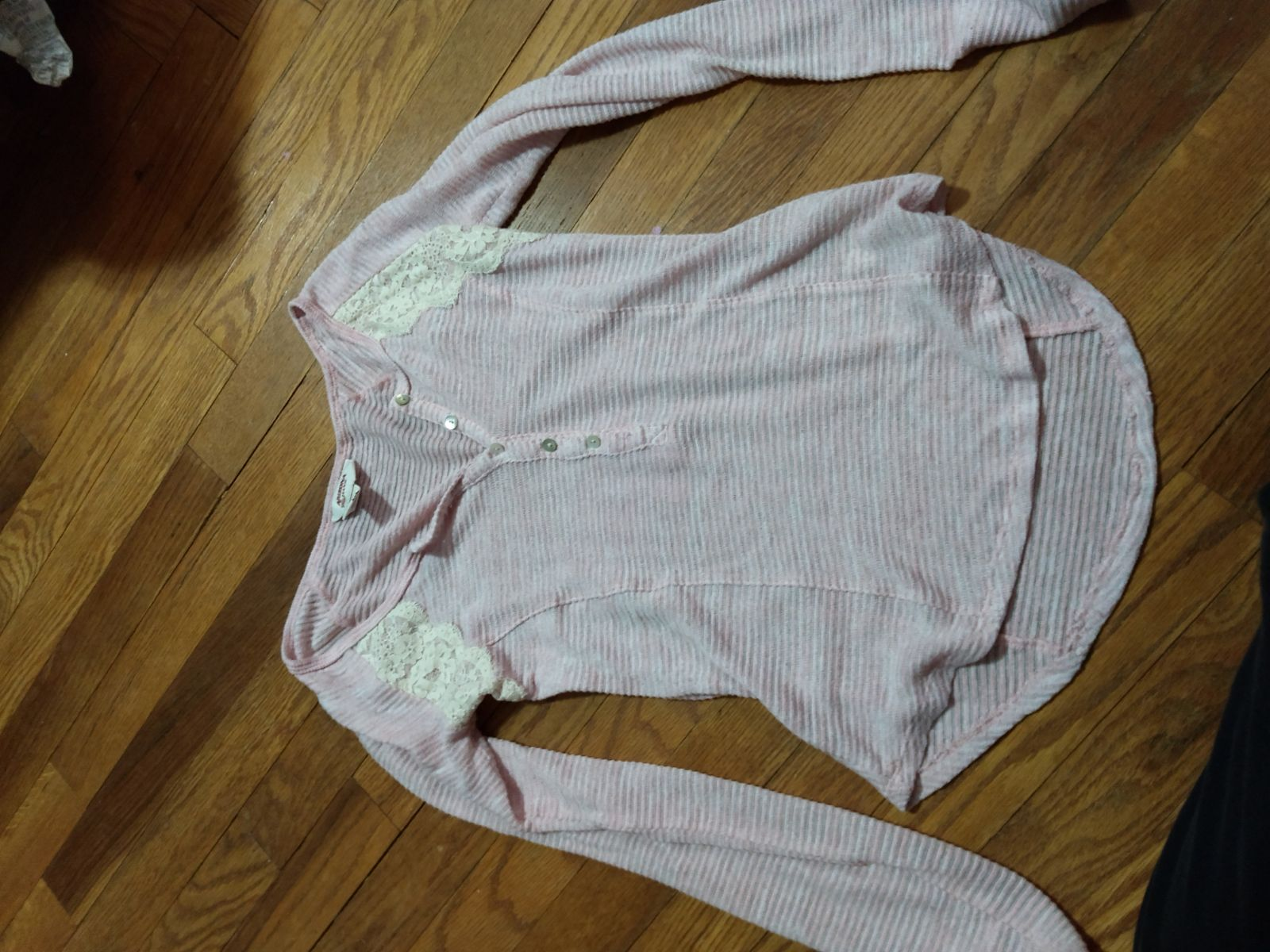 Sweater Xs Pink Sheer Arizona Jeans