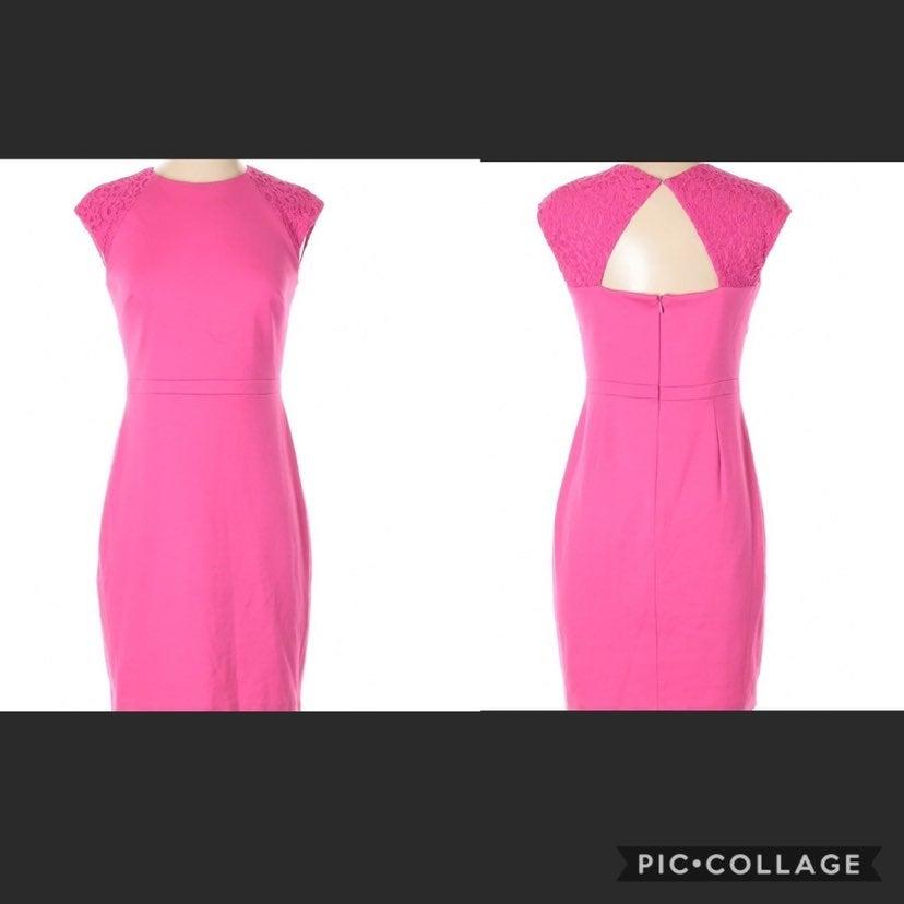 Cynthia Steffe Keyhole Sheath Dress