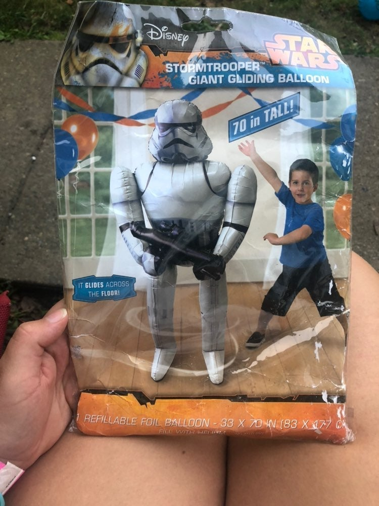 70 inch storm trooper balloon