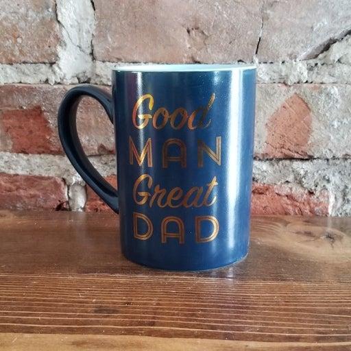 Blue Great Dad Coffee Tea Mug