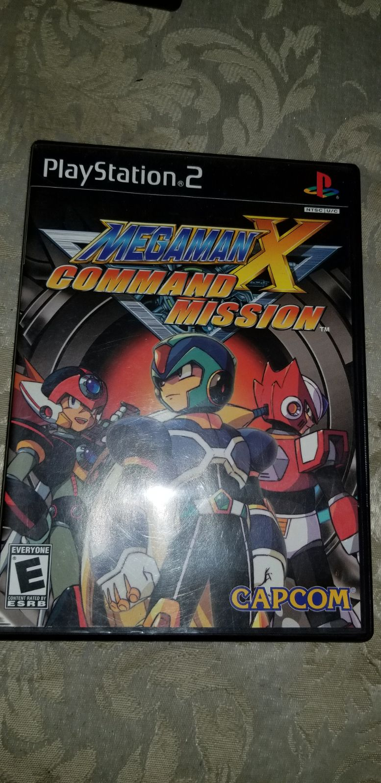 Megaman X Command Mission PS2 CIB W TC