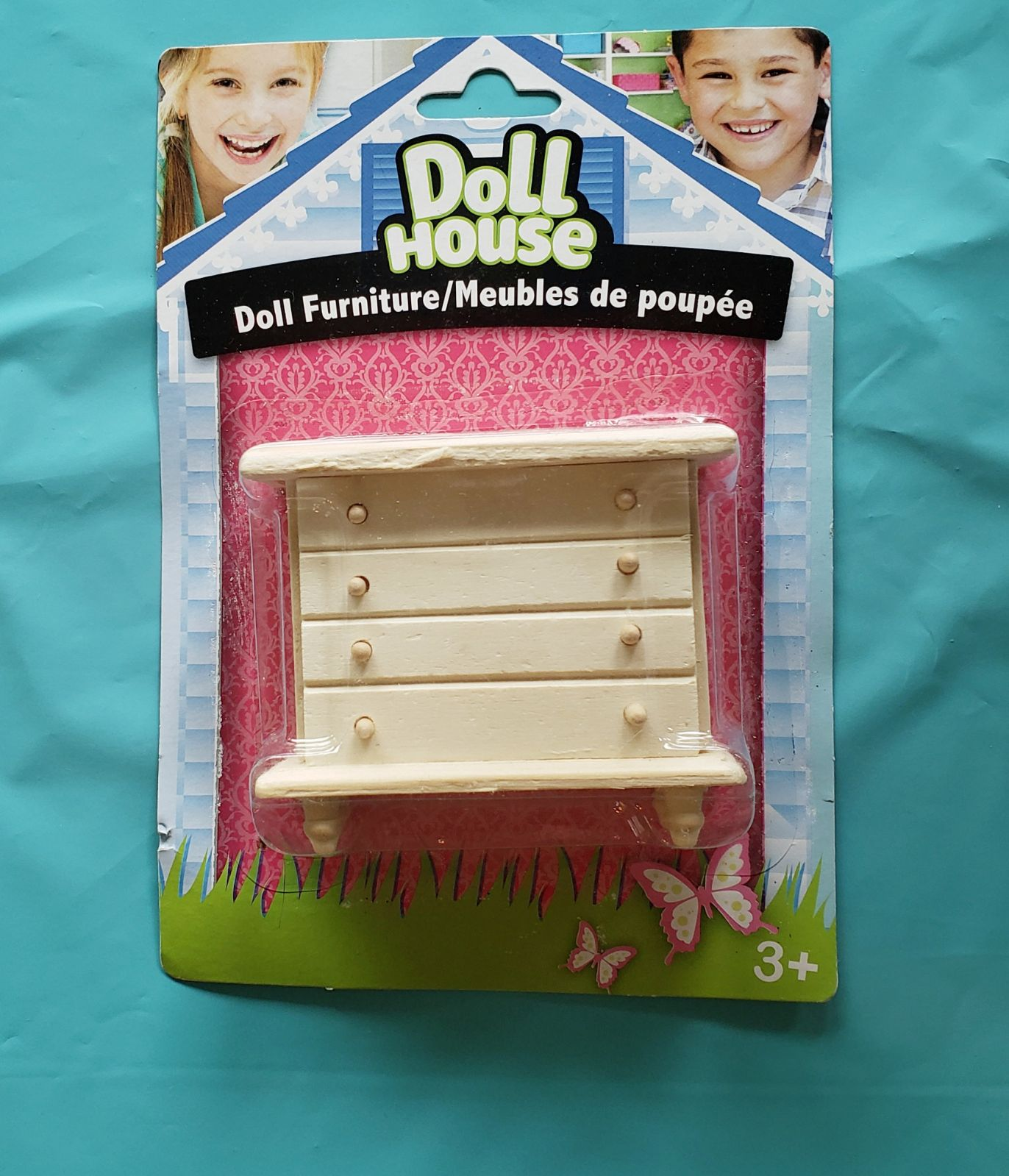 Doll House Furniture       Chest of Draw