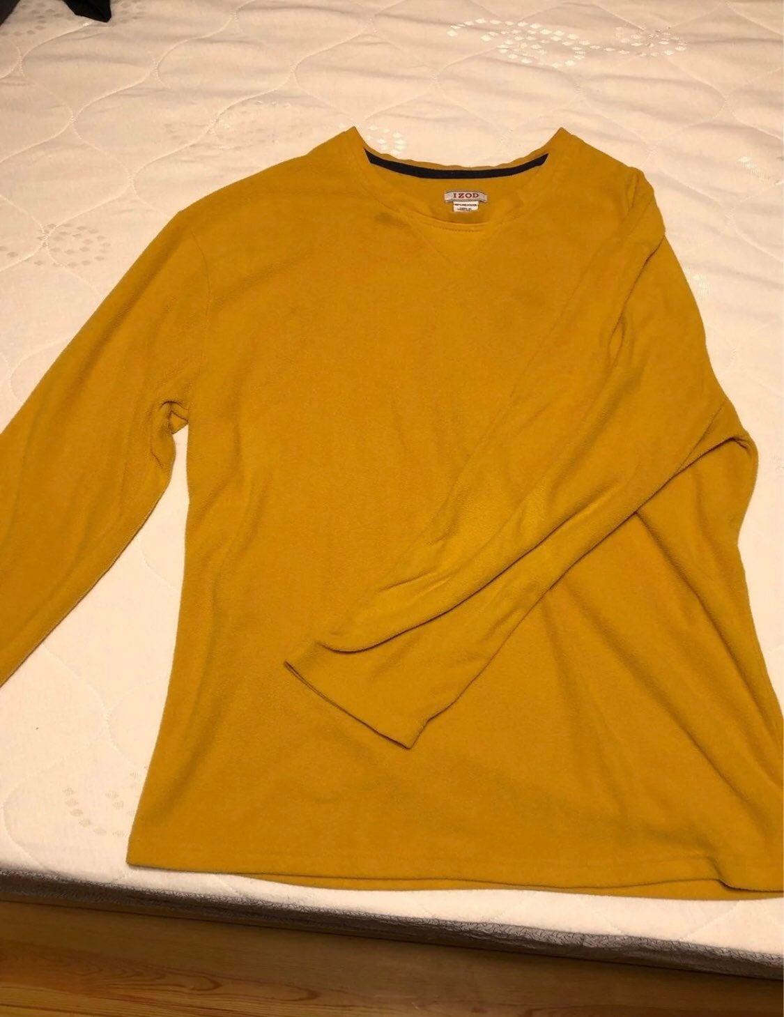 IZOD Men's Fleece Long Sleeve Shirt