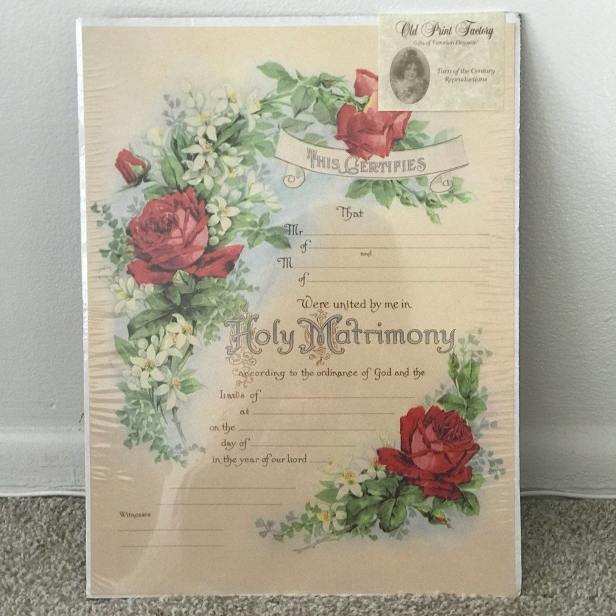 NEW Wedding Personalized Board/Lovely
