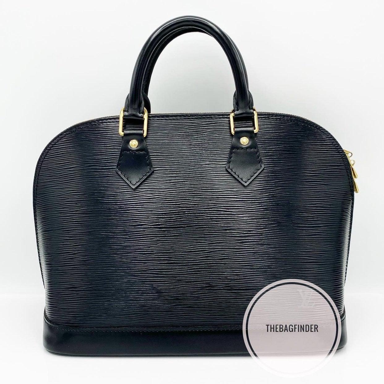 Louis Vuitton Alma Epi Black