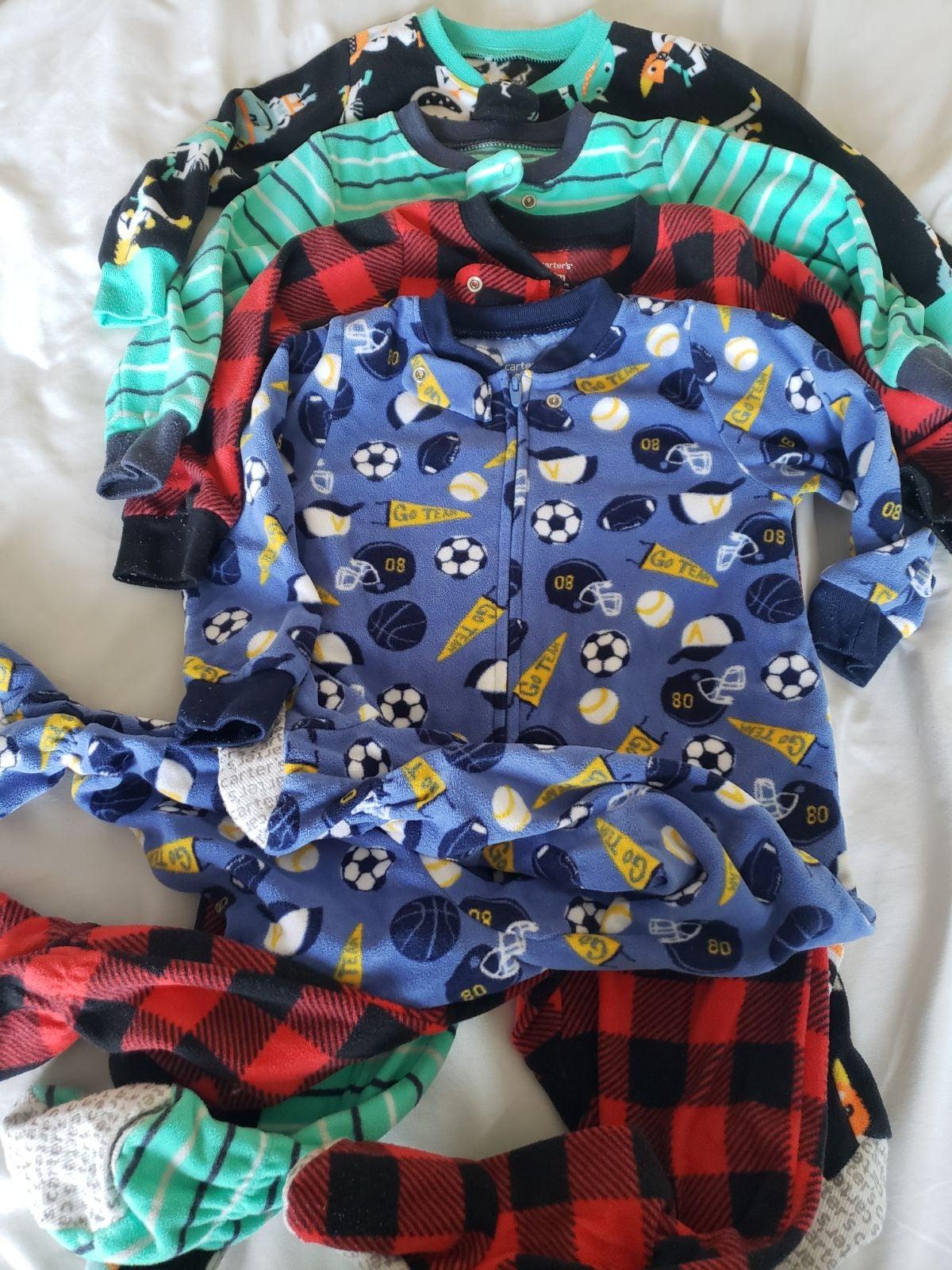 Lot boys 18 month pajamas
