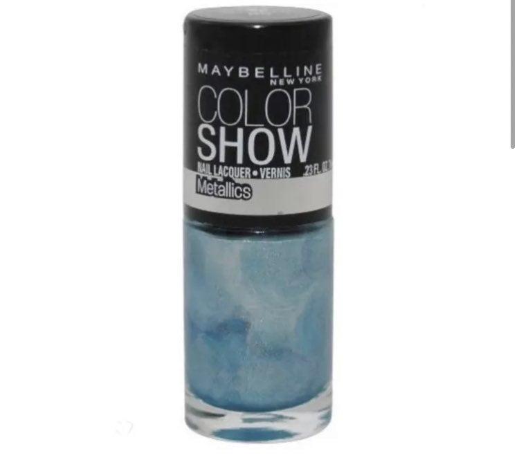 BOLD METALLICS nail polish