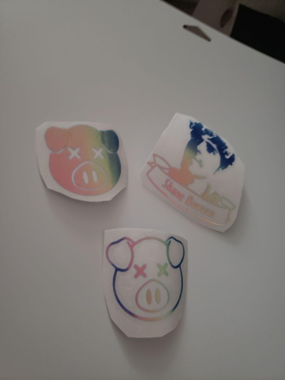 3 shane dawson sticker decals