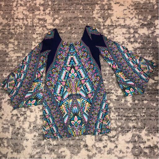 Vintage Multi-colored dress Sz Sm Like New