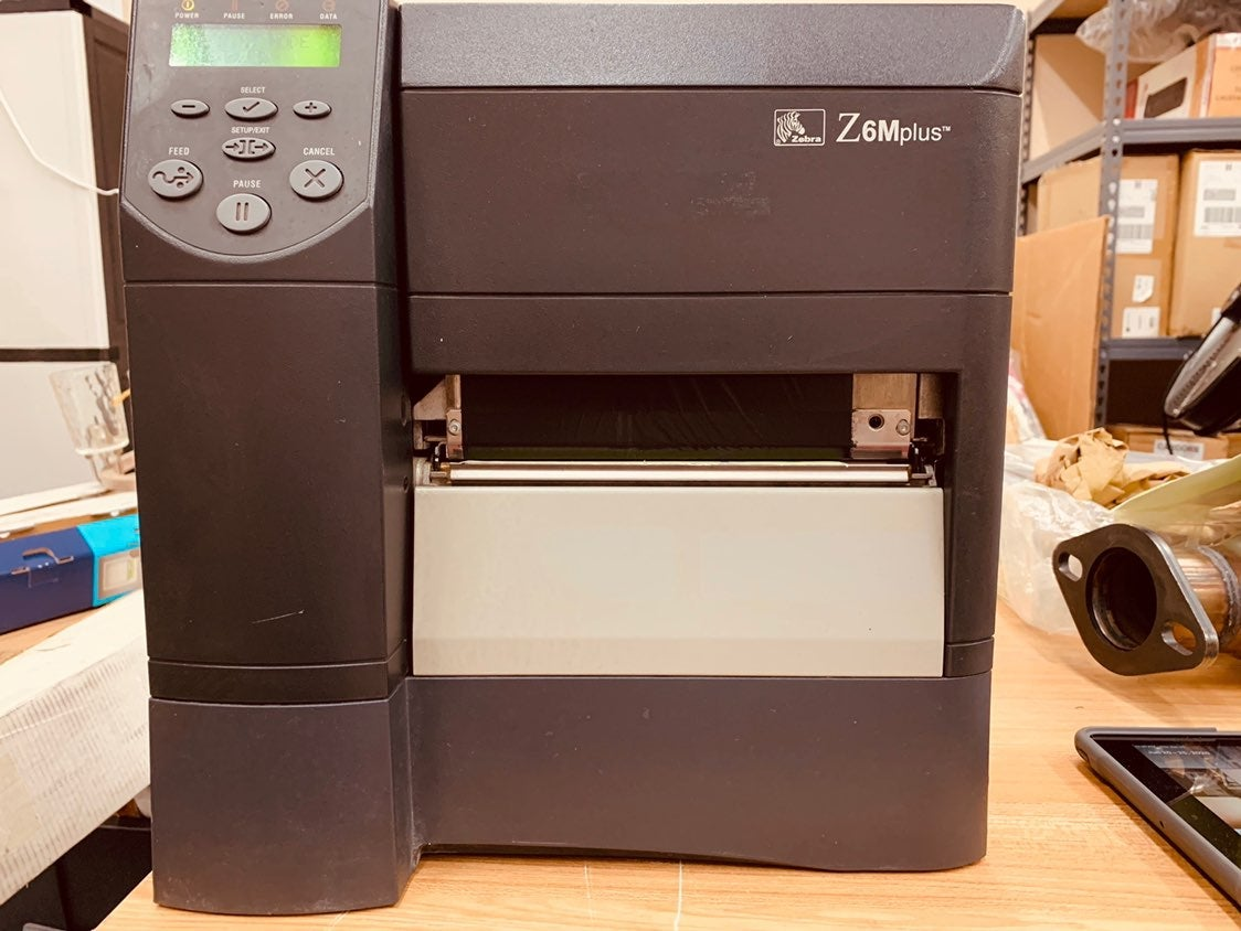 Z6M Plus Series™ label printer