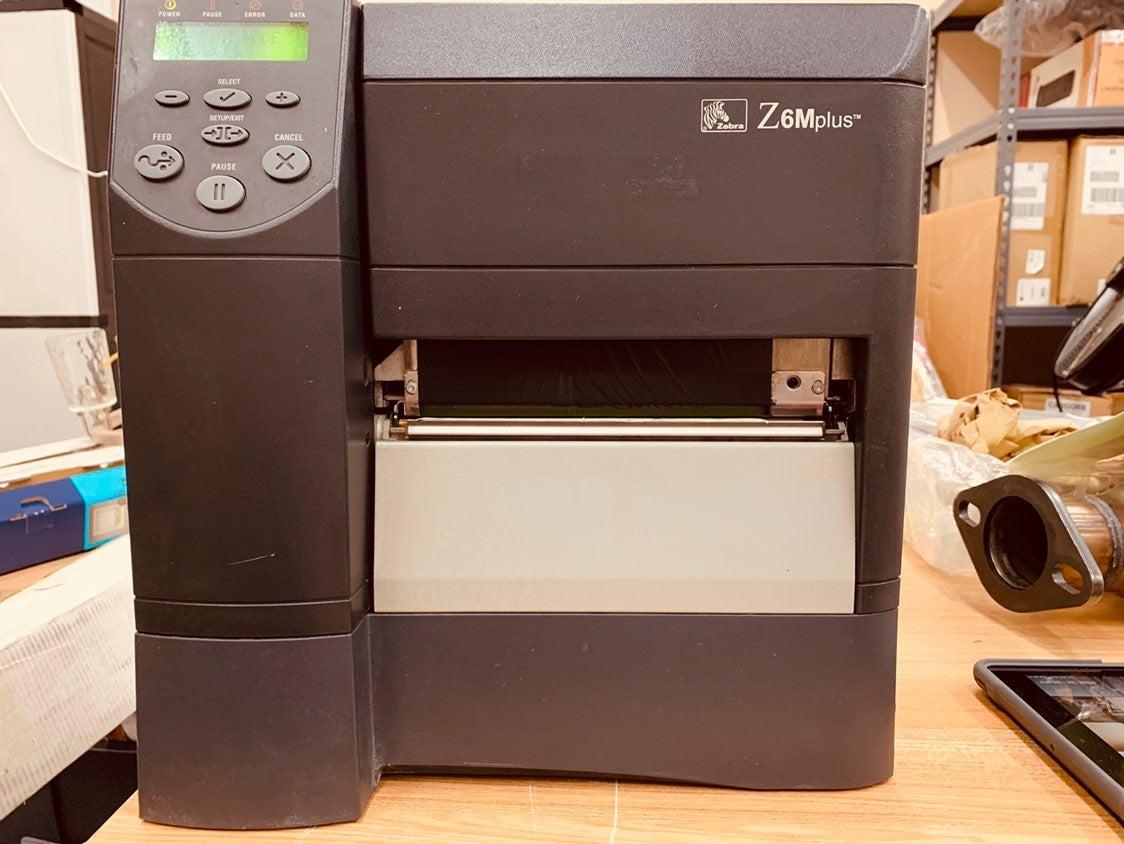 Z6M Plus Series™ label printer