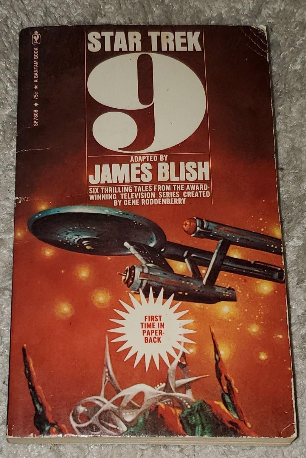 Star Trek 9 - vintage paperback Blish