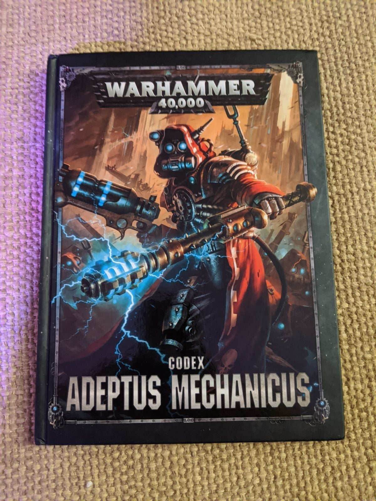 Warhammer 40k adeptus mechanicus codex 8