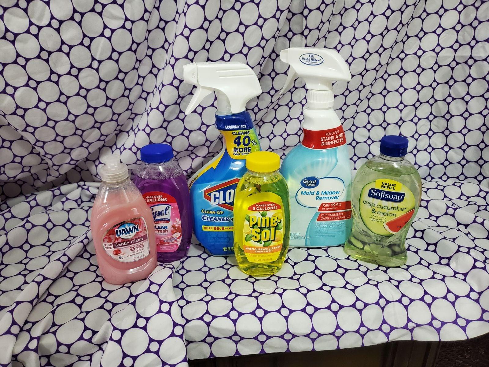 househol supply bundle of 6