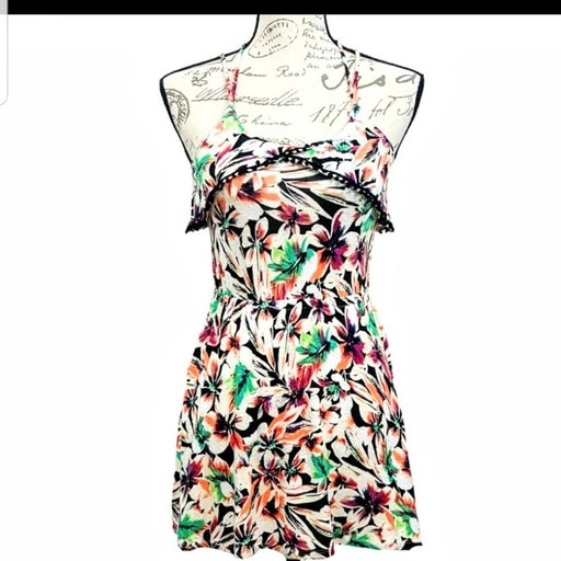 ANTHRO Colorful Floral RARE Top/Dress