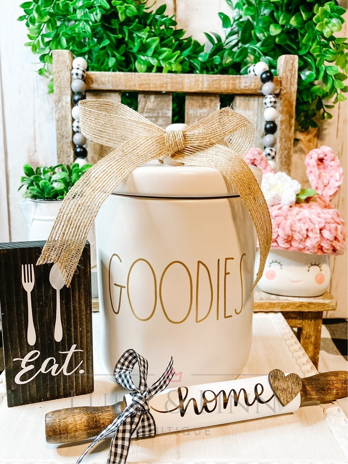 """Rae Dunn """"Goodies"""" Canister"""