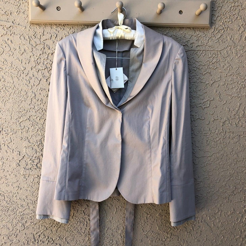 NWT Brunello Cucinelli Tie Waist Blazer