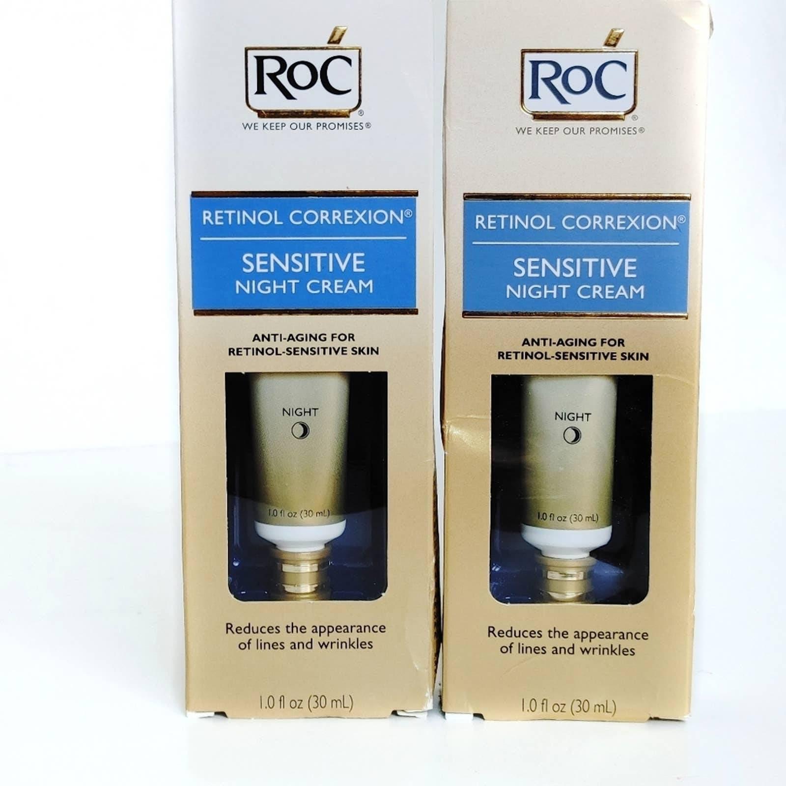 ROC Sensitive Skin Retinol Night Cream
