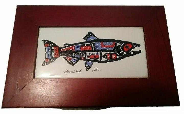 Roxanne Leask Box, 'Salmon' Image