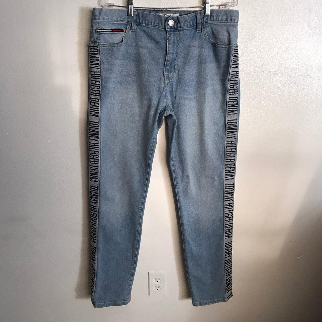vintage Tommy Hilfiger blue heans 34/36