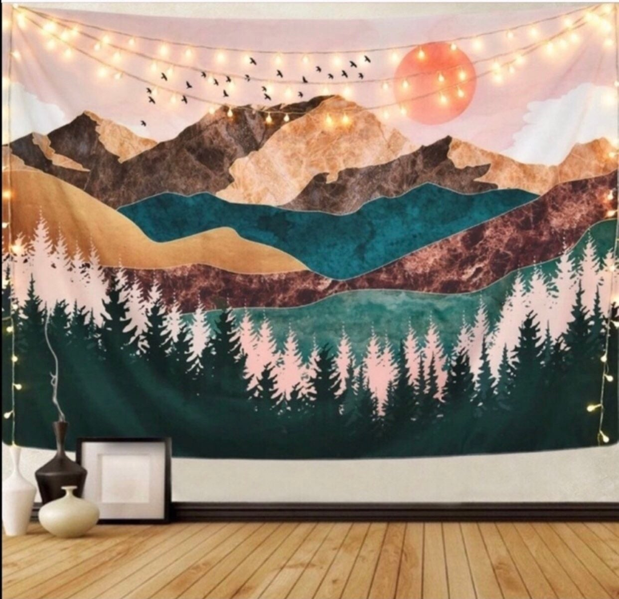 Urban Outfitters Mountain Tapestry New