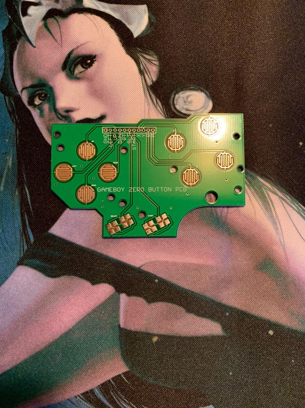 Gameboy Zero Button PCB