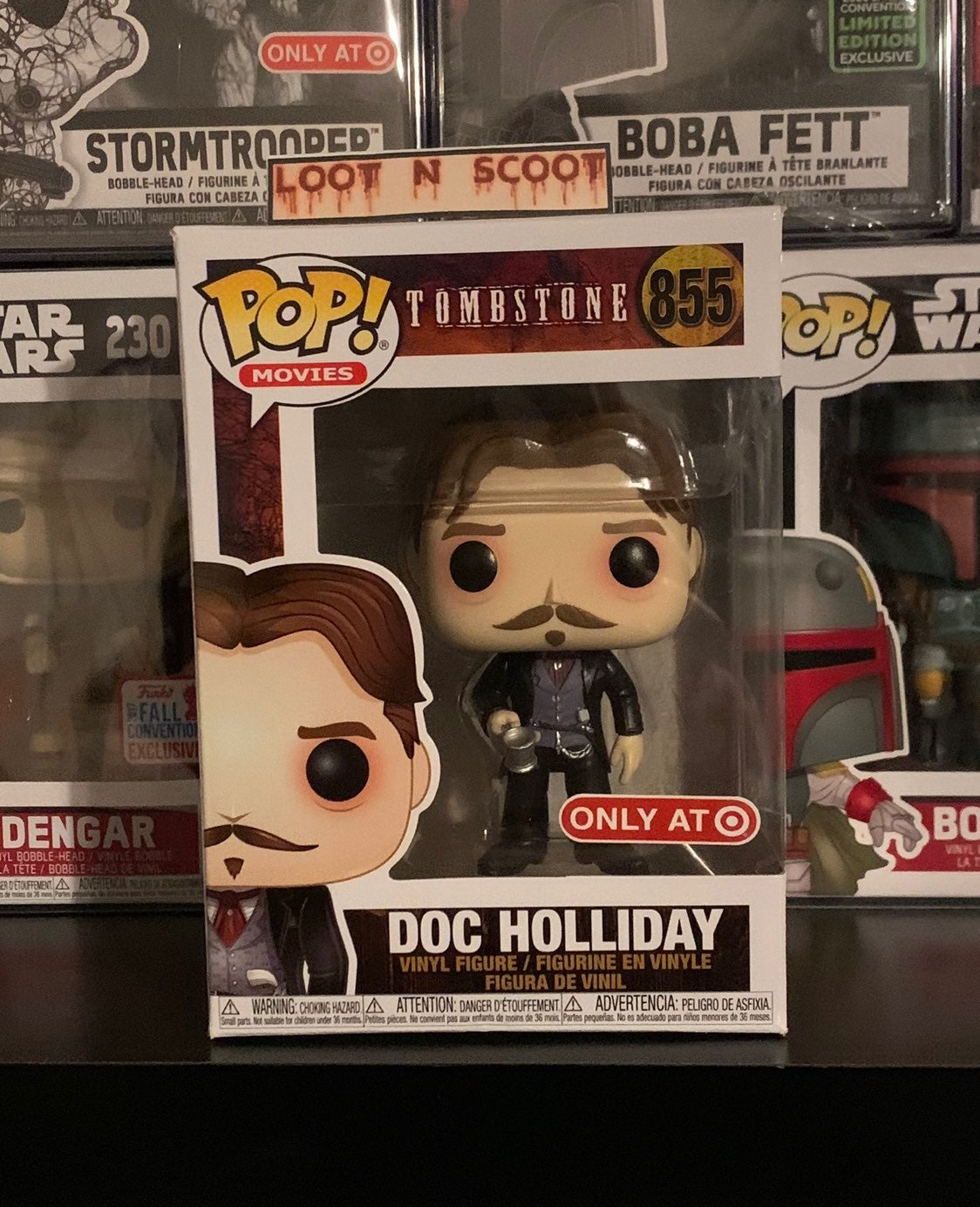Funko Pop Doc Holliday Target exclusive