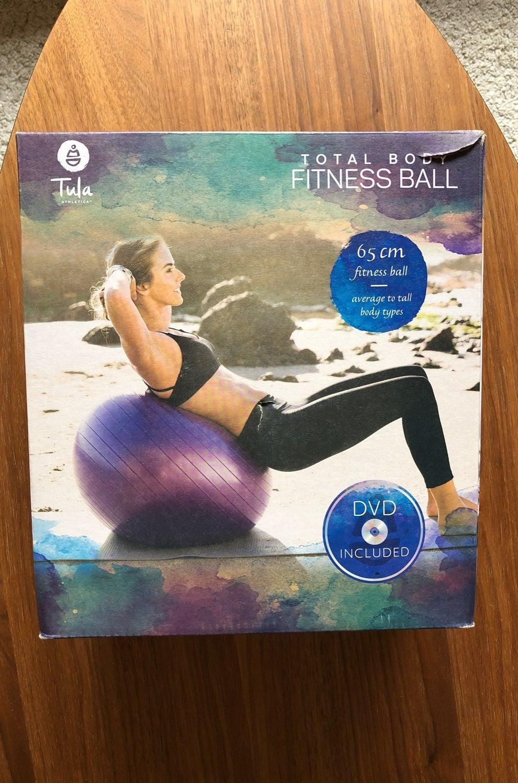 Tula fitness ball core workout