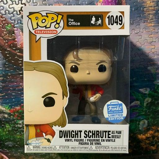 Dwight as pam funko pop. #1049