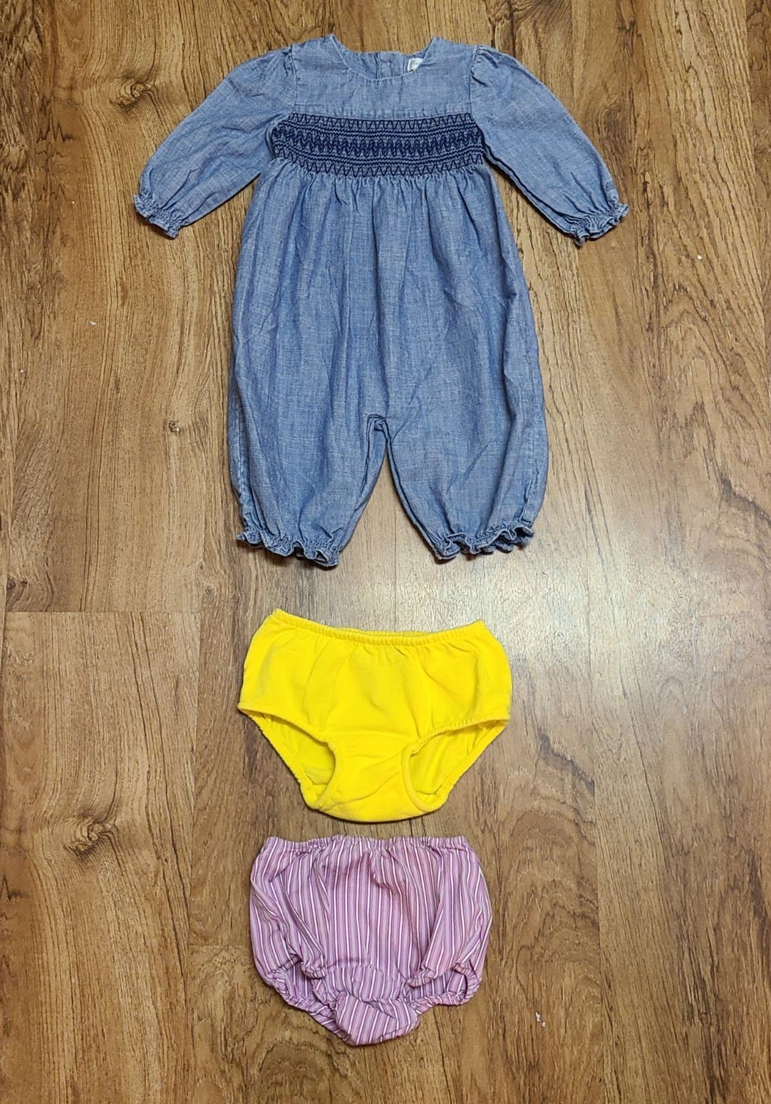 Ralph Lauren Bundle Romper and 2 Diaper