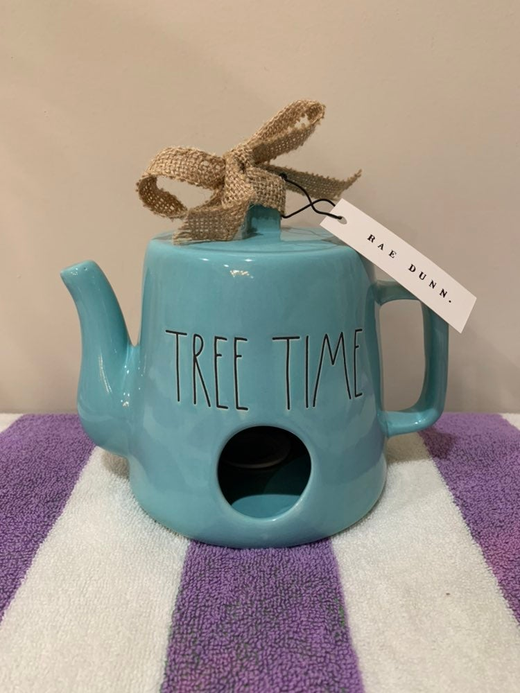 Rae Dunn Tree Time Water Can Birdhouse