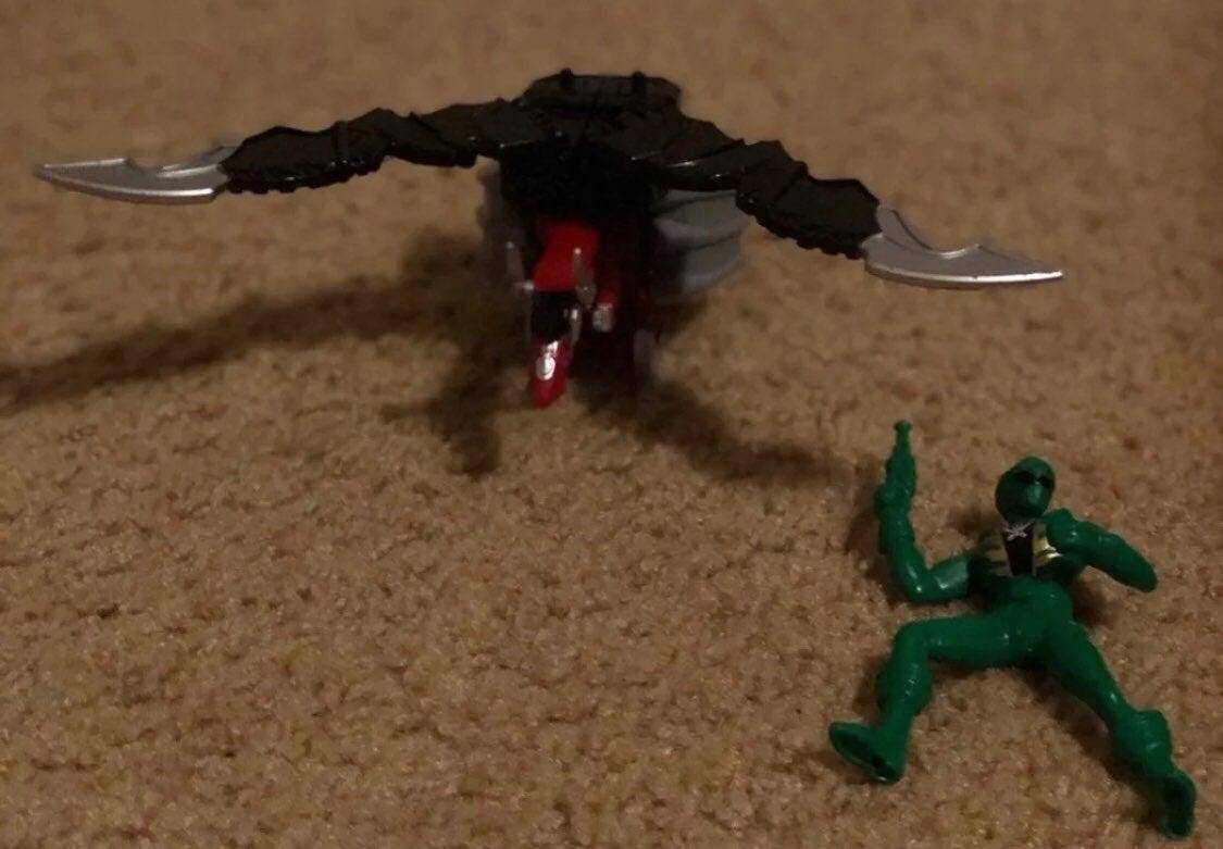 Power Rangers Mystic Dragon Zord & Green