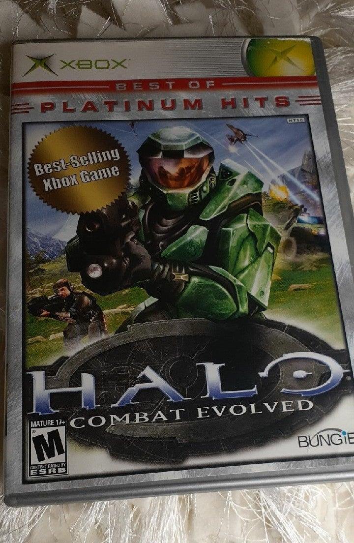 Halo: Combat Evolved on Xbox platinum hi