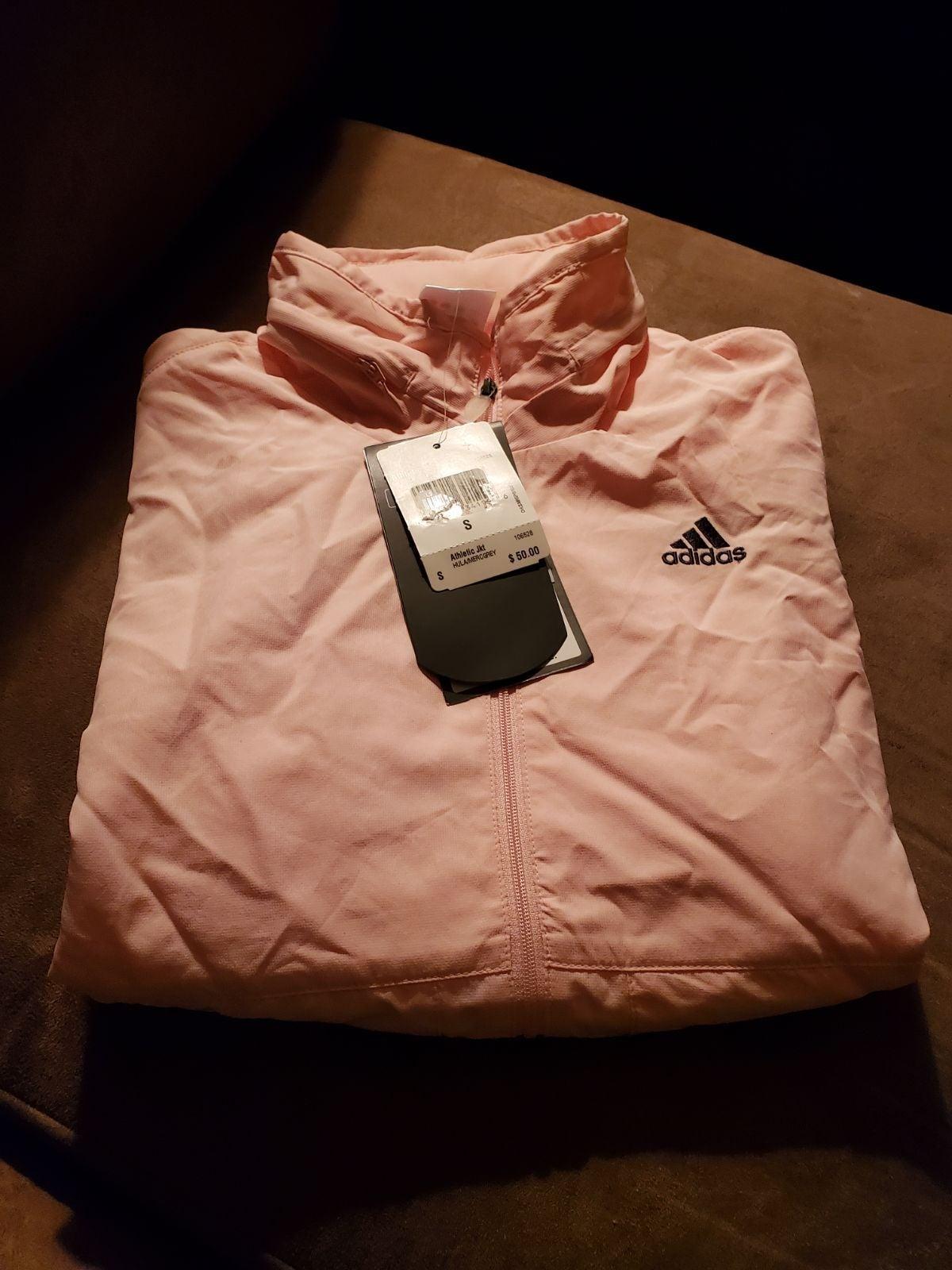 NWT Adidas athletic training jacket