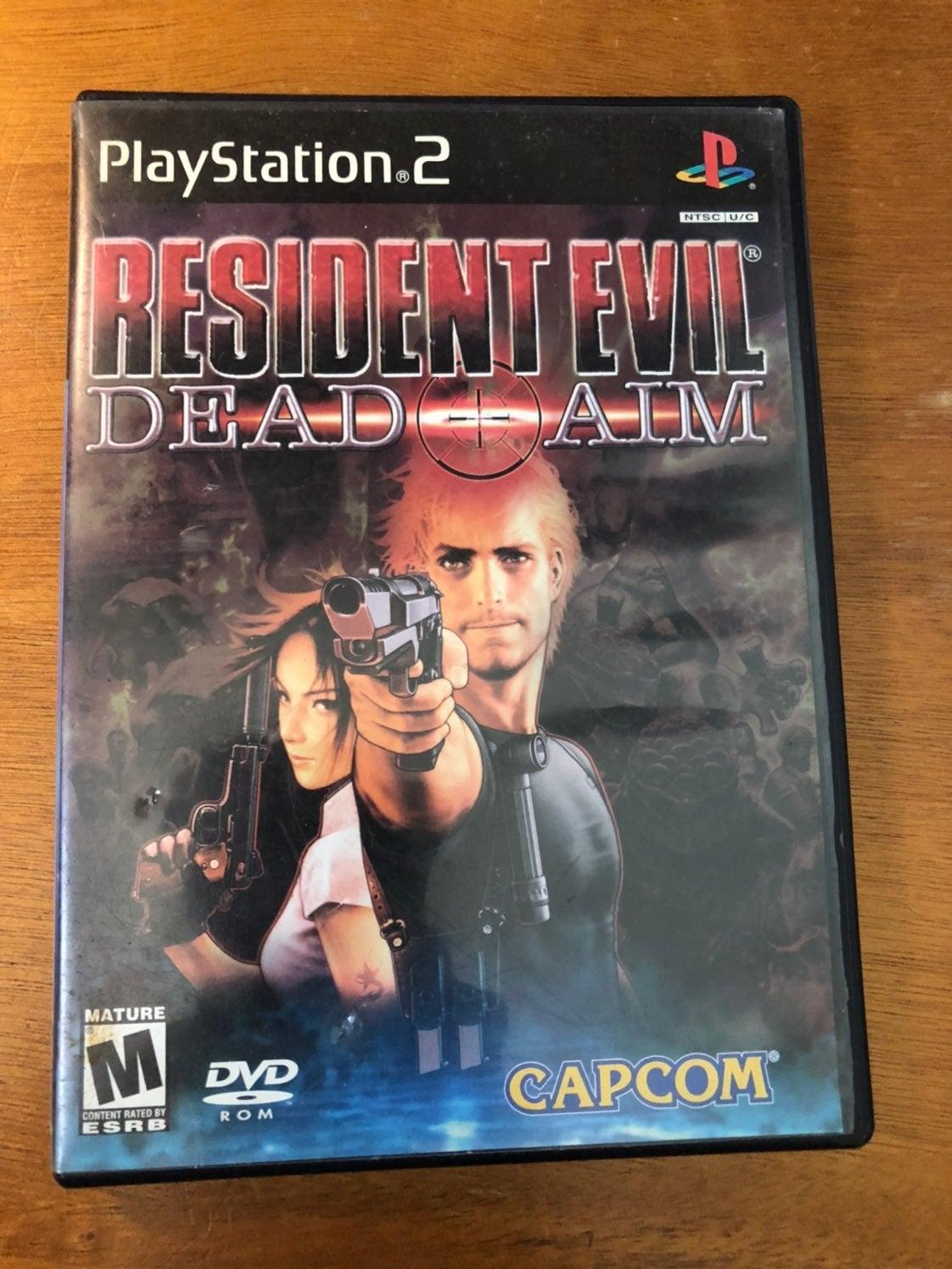 resident evil dead aim ps2