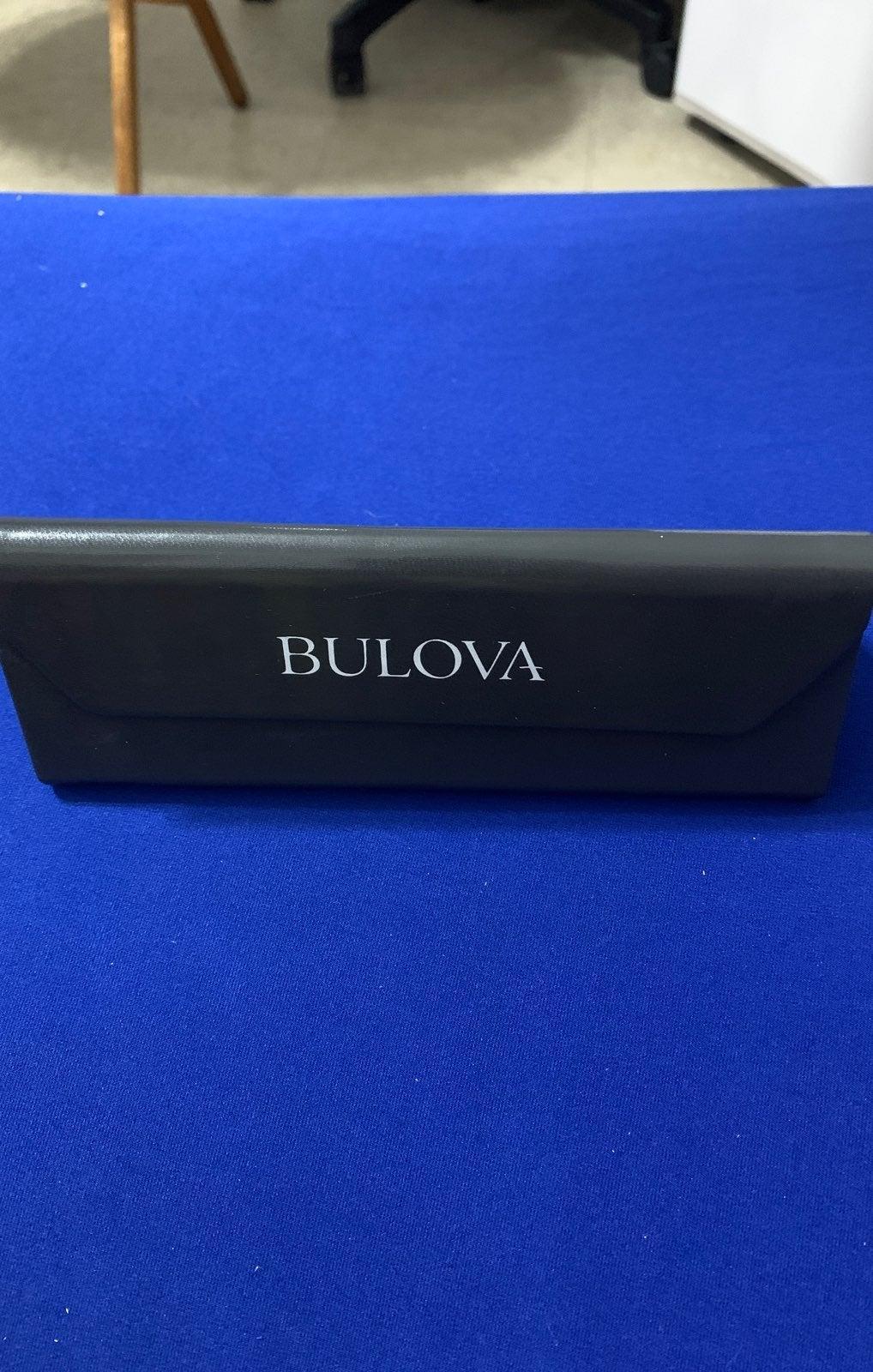 Bulova sunglasses case