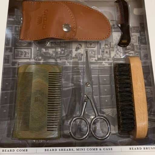 Barber grade beard tool collection
