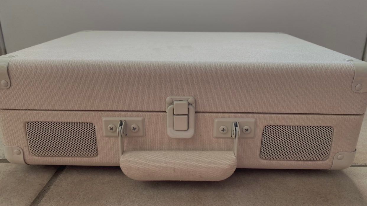 Urban Outfitters Cream Crosley Record Pl