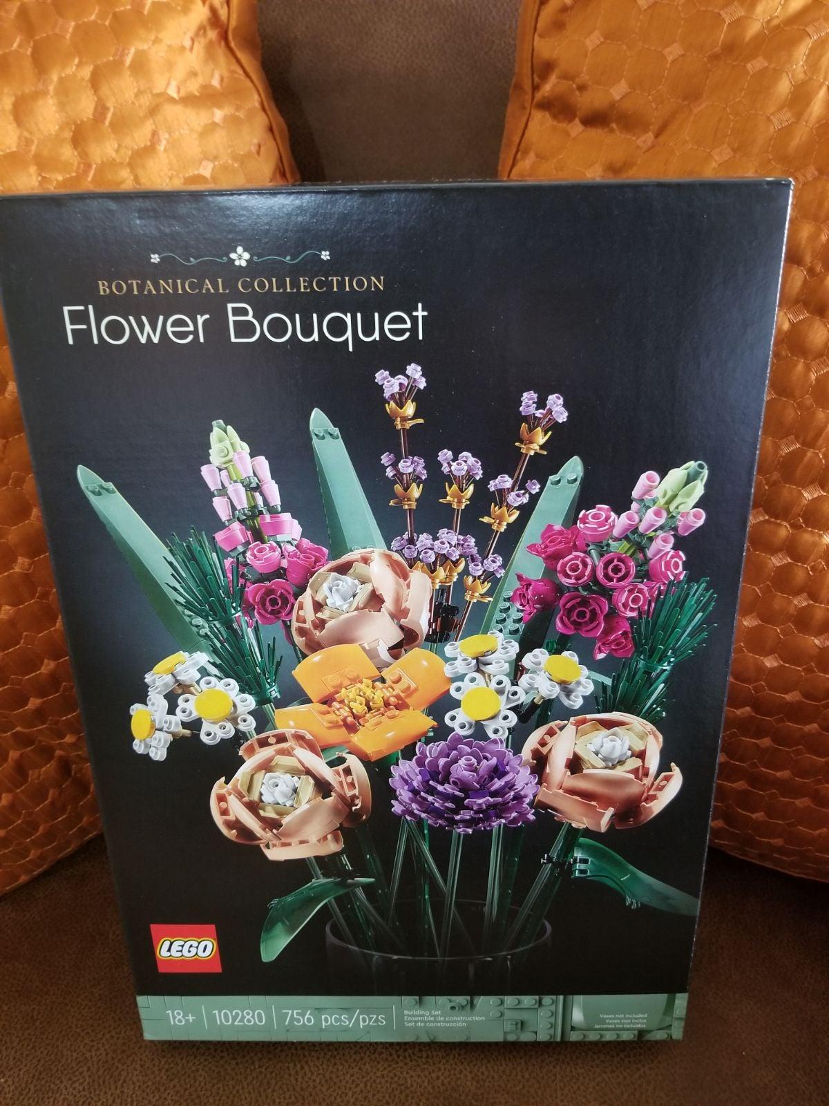 LEGO Flower Bouquet Building Kit-756 Pcs