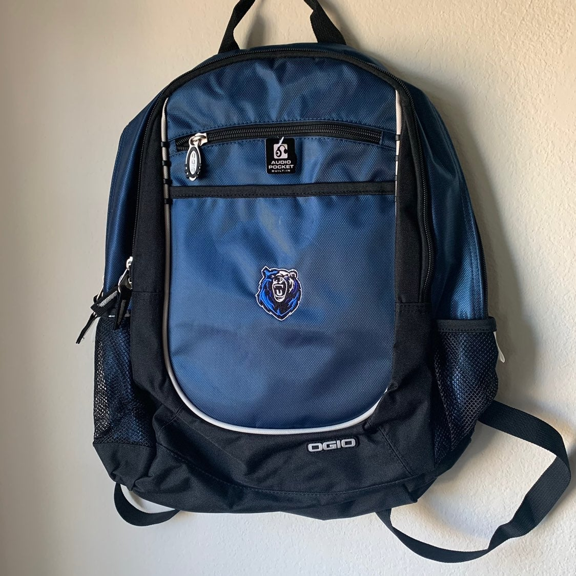 Backpack Memphis Grizzlies Ogio blue NBA