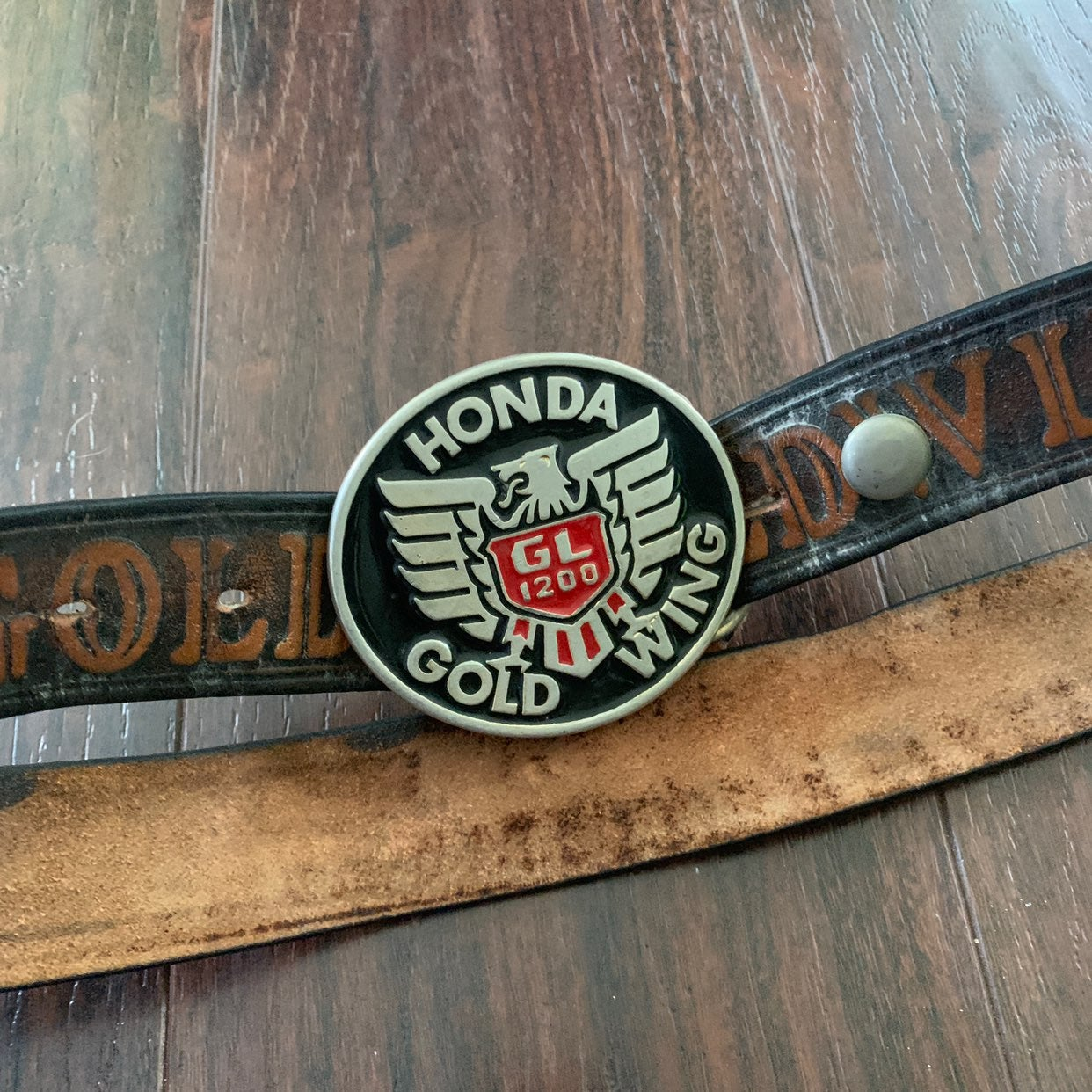 Honda Goldwing Motorcycle Belt/buckle