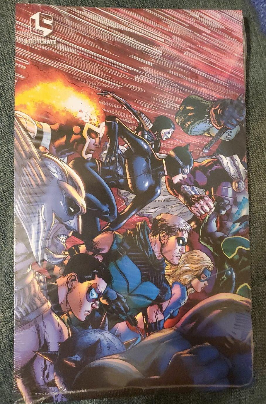 Justice League Trinity War Triptych