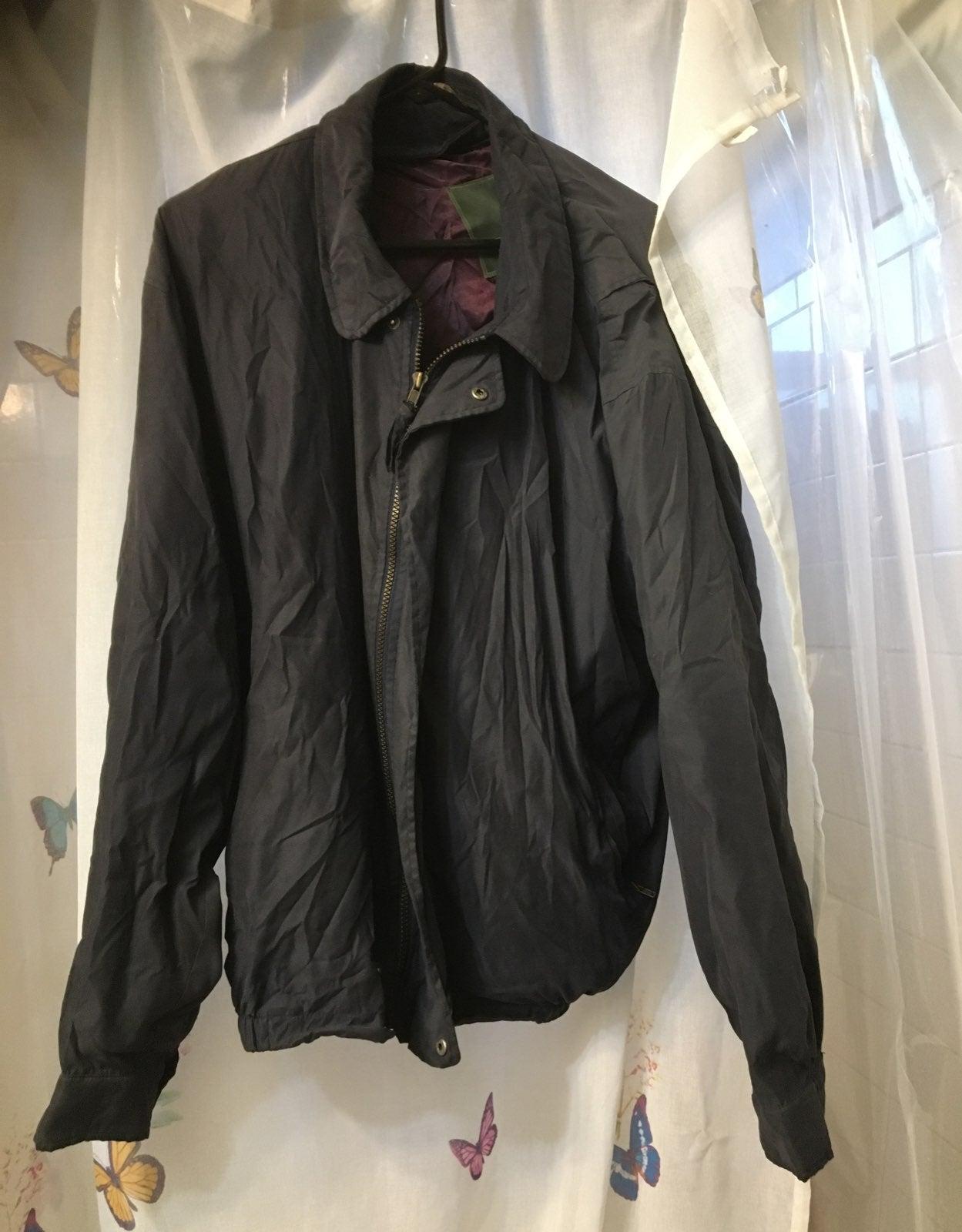Weatherproof jacket mens blue xl