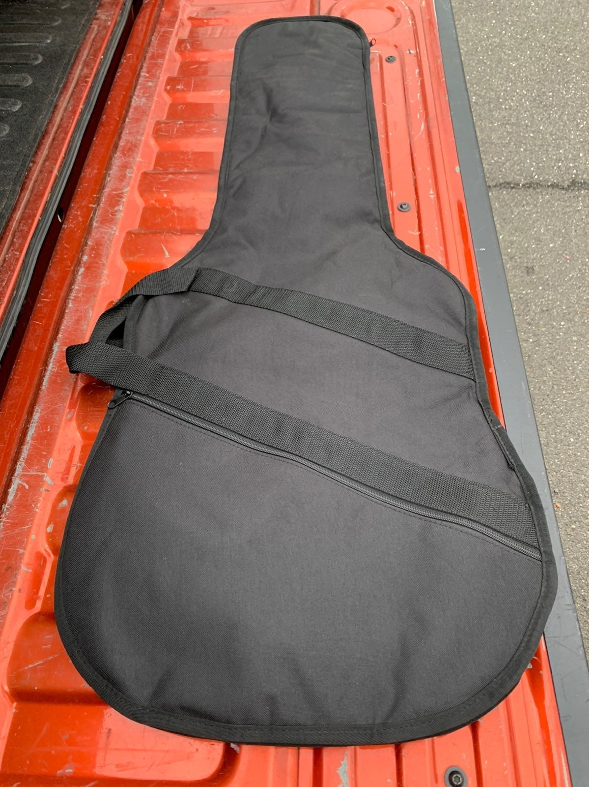 Brand New Padded Electric BASS zip case