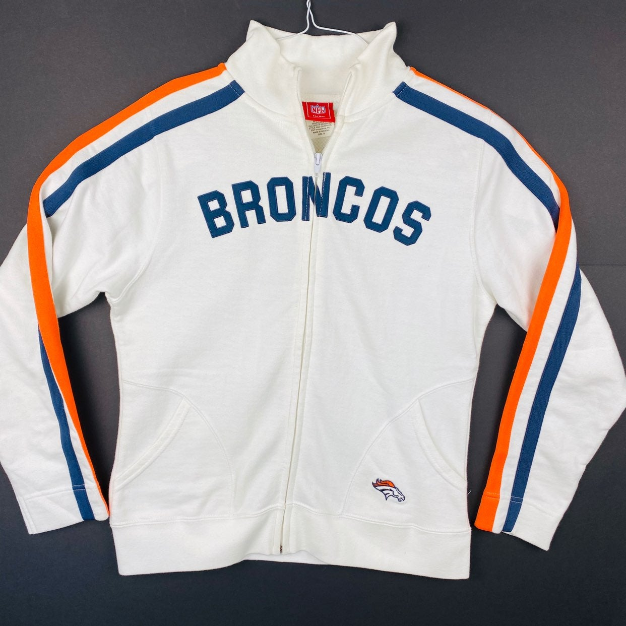 NFL Denver Broncos Women Medium Full Zip
