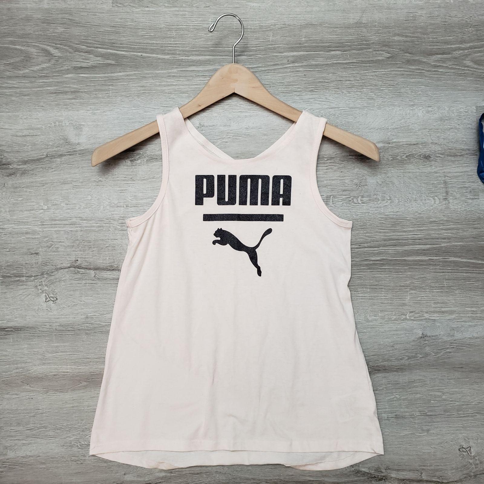 Puma girls large workout tank top