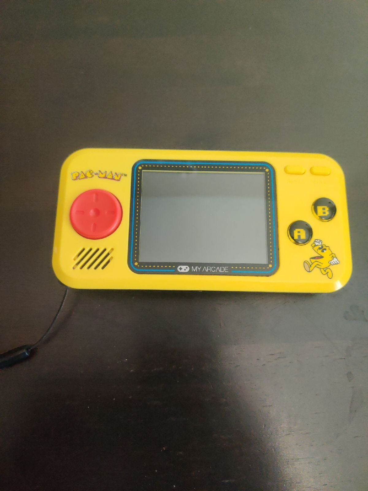 Pac-Man hand held video game