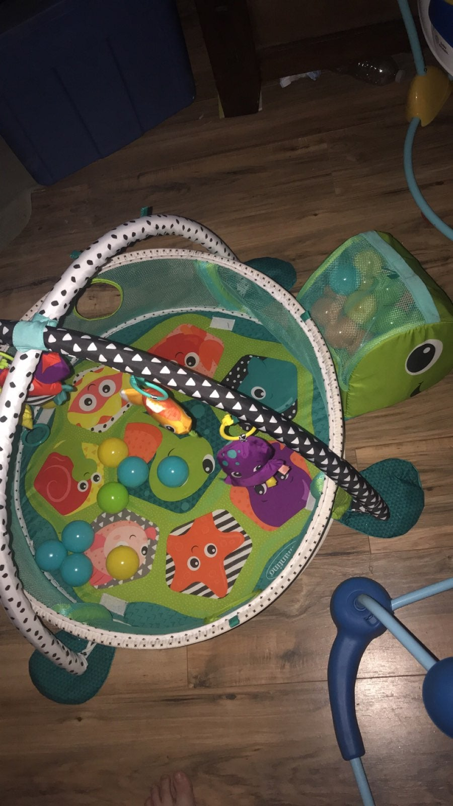 Turtle Baby Ballpit