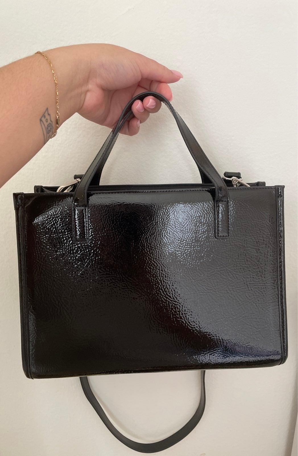 UO Miranda Top Handle Crossbody Tote Bag